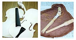 Violin and Bugpipe and Kit